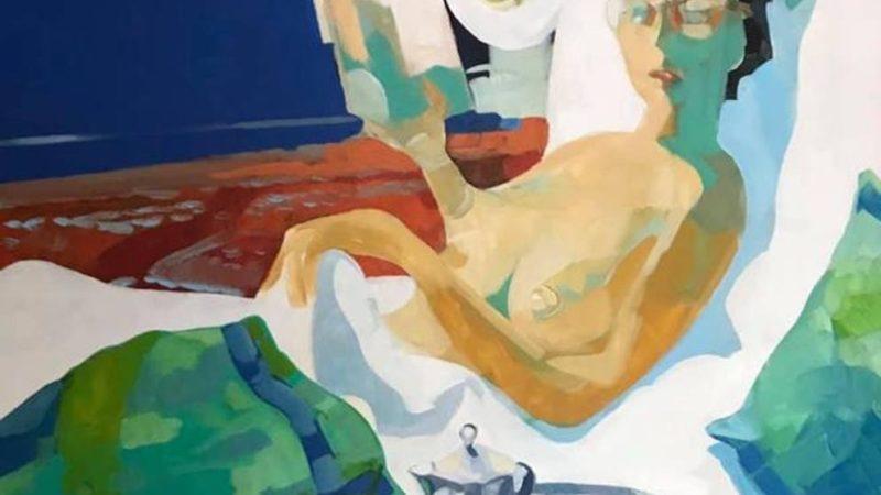 Le opere di De-Coll. La prima mostra d'arte che aiuta a combattere il cancro