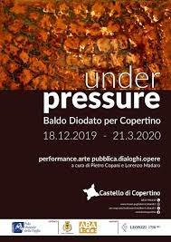 Under pressure. Baldo Diodato a Copertino