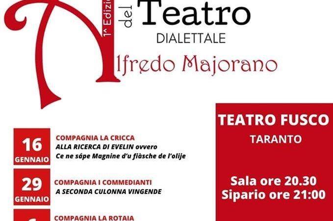 Festival del Teatro Dialettale dedicato ad Alfredo Majorano