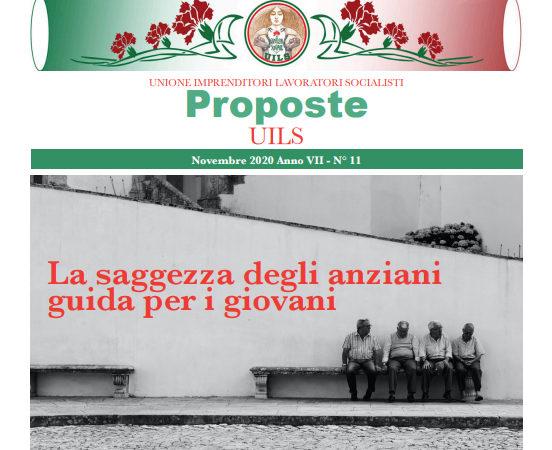 Periodico Proposte UILS – N. 11 – Novembre 2020