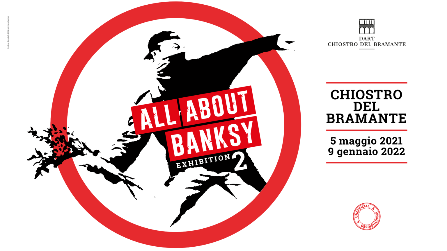 All about Banksy: exhibition 2