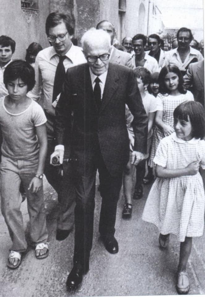 8 Luglio 1978.  Sandro Pertini viene nominato Presidente della Repubblica Italiana. Il Presidente che parlava ai giovani.