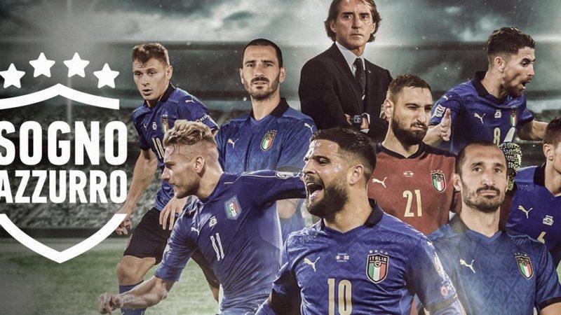 """""""Sogno Azzurro. La strada per Webley"""". Il docu – film del trionfo italiano a Euro 2020"""